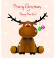 Dear deer Rudolph vector image vector image