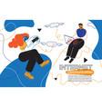 internet communication - colorful flat design vector image