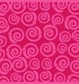 pink spiral circle pattern stacked vector image vector image