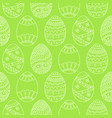 seamless simple pattern with easter eggs easter vector image vector image