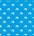 tourist tent pattern seamless blue vector image vector image