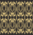 abstract art deco pattern03 vector image vector image