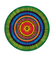 adult coloring book page circular pattern mandala vector image vector image