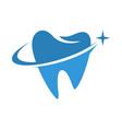 dental care icon logo vector image