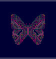 electronicbutterfly vector image vector image
