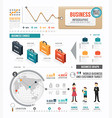 Infographic Business world template design vector image vector image