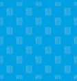 paint brush palette pattern seamless blue vector image