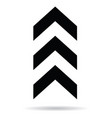 popular abstract zig zag black chevron stack vector image vector image