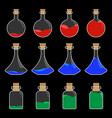 Potion Bottle Design vector image