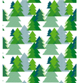 abstract art background christmas tree seamless