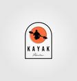 adventure kayak logo outdoor design