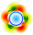 colorful indian background vector image vector image