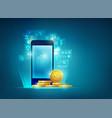 mobilebanking vector image