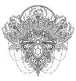 ornamental design element ethnic art vector image vector image