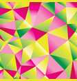 seamless beautiful abstract geometric pattern of vector image vector image