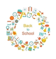 Background for Back to School vector image