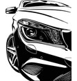 car auto germany vector image