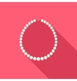 Pearl Necklace vector image