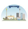 Berlin vector image vector image