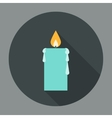 Candle Icon Flat vector image