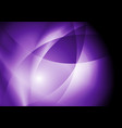 dark violet purple abstract smooth waves vector image vector image