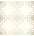 Golden abstract geometric Jacquard pattern with vector image