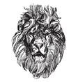 lion head is a painting by paul meyerheim vintage vector image vector image