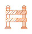 monocromatic street sign design vector image vector image