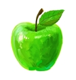 picture of apple vector image vector image