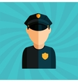 police service design vector image