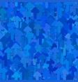 seamless random arrow background pattern vector image vector image