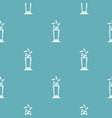 star award pattern seamless vector image