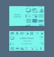 digital art design studion or lessons vector image