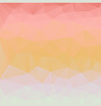abstract pastel background of triangles vector image