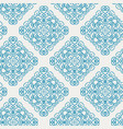 blue damask ornate seamless pattern for graphic vector image
