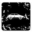 Car icon grunge style vector image vector image