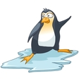 cartoon character penguin vector image vector image