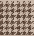 check and leopard fashion seamless pattern vector image vector image