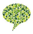 Go Green social marketing campaign vector image