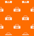 large sports bag pattern seamless vector image vector image