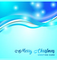 merry christmass gretting card vector image