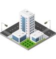 Transport urban road vector image vector image
