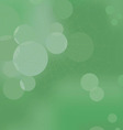 Web in the wood on a green abstract background vector image vector image
