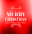 2016 New Year and Happy Christmas background for vector image