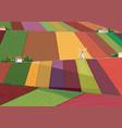 Fields vector image