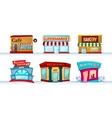 Different city facilities vector image