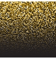 Golden luxury glitter falling particles Festive vector image