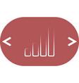 graph icon vector image
