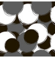 seamless doodle pattern round doodle patterns of vector image vector image