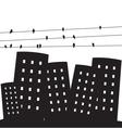 urban city vector image vector image